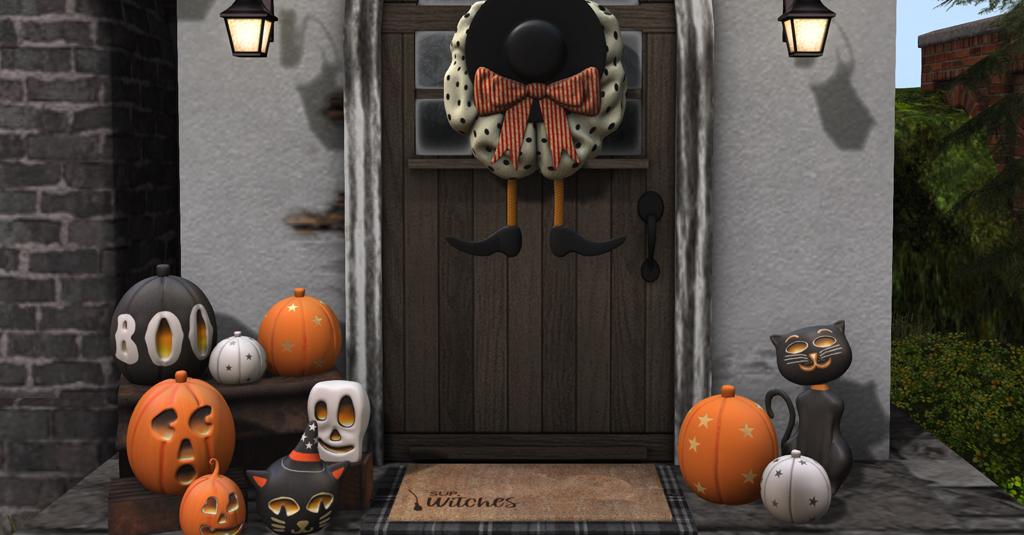 Cute Halloween Clutter CHEZ MOI