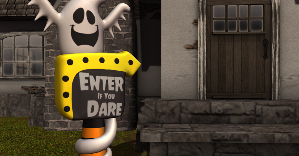 CHEZ MOI Inflatable Enter if You Dare